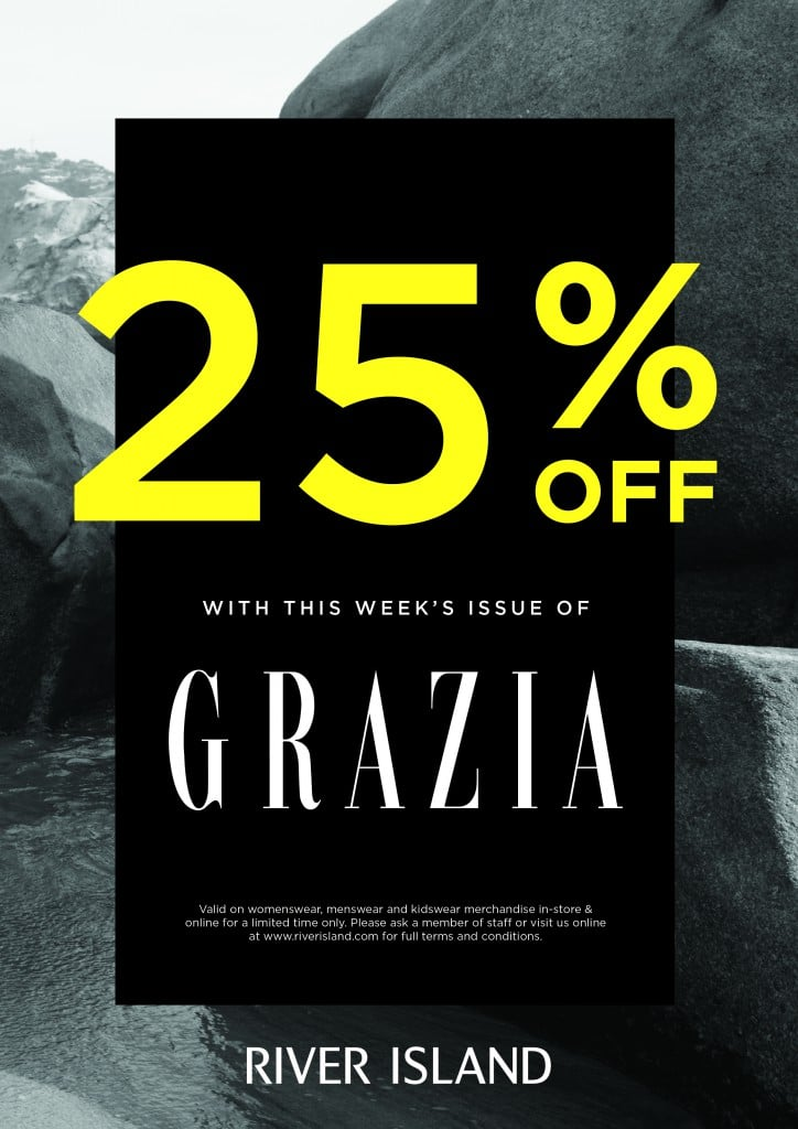 Huge Savings At River Island With This Week S Issue Of Grazia