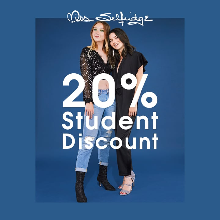 Our 20 per cent monthly student discount is available to new and upgrading customers only, and you must be a University student. If you're already with us, check if .