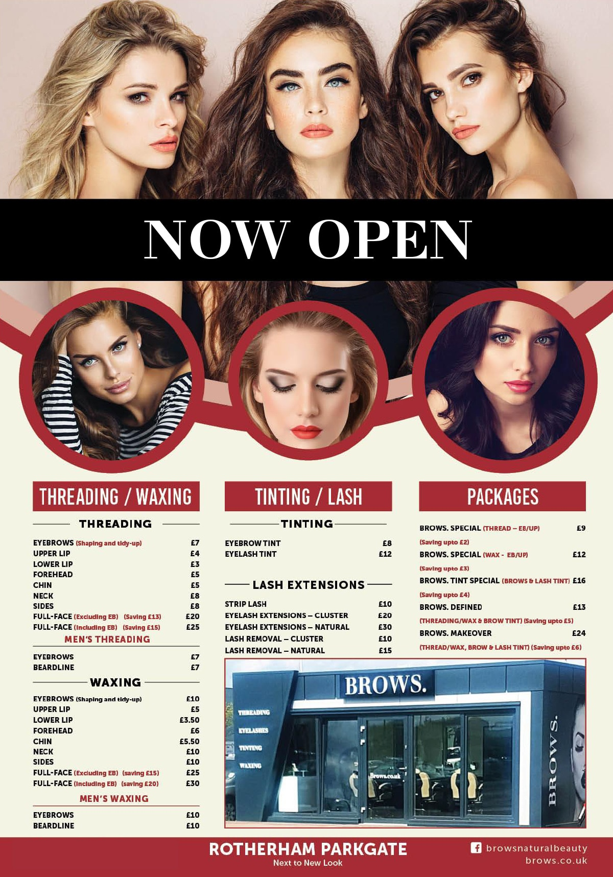 Brows now open at Parkgate