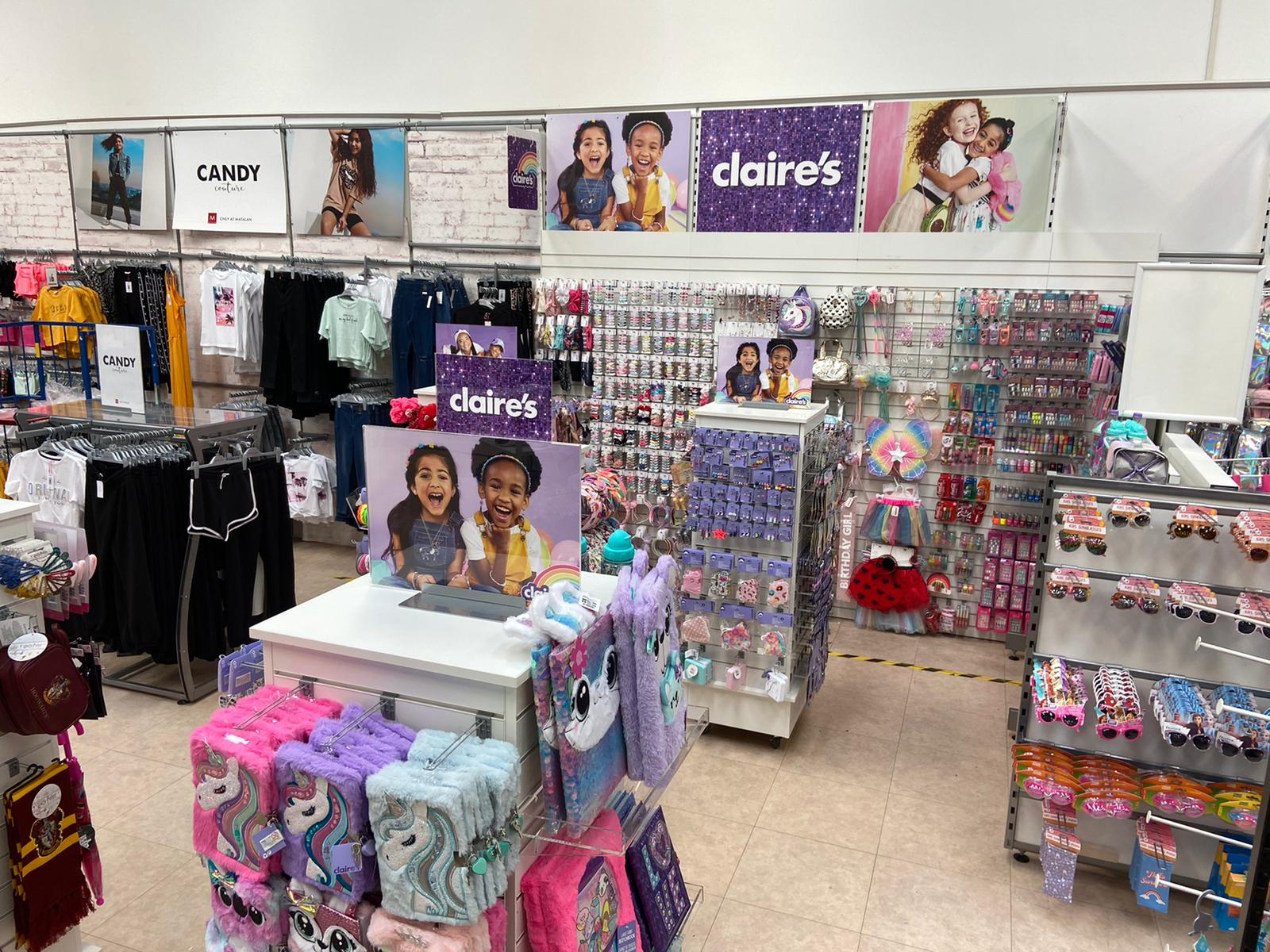 Claire's Accessories comes to Matalan