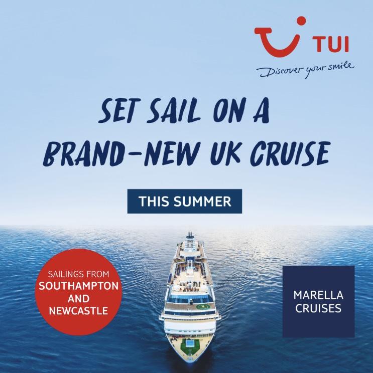 Tui announces the return of cruises!